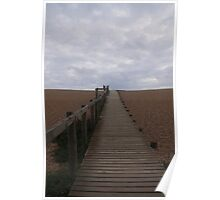 Walk on Chesil Beach. Poster