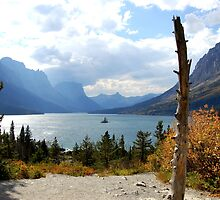 Saint Mary's Lake- Glacier National Park, Montana by Breanna Stewart