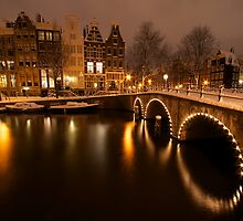 Amsterdam in Snow II. by Gordito73