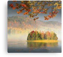 Autumn Island Metal Print