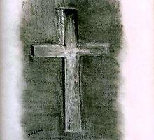 Crucifix by Debbie  Adams