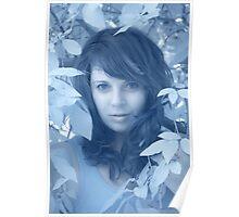 Girl in Olive Tree 1 - Puglia, Italy Poster