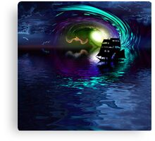 Journey To The Other Side Canvas Print