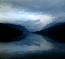 Bowman Lake, Glacier National Park- Montana by Breanna Stewart