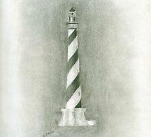 Cape Hatteras Lighthouse (Solo) by Debbie  Adams