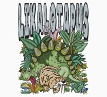 Dinosaur - Likalotapus t-shirt by bear77