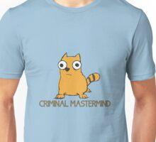 CRIMINAL MASTERMIND Cat Unisex T-Shirt