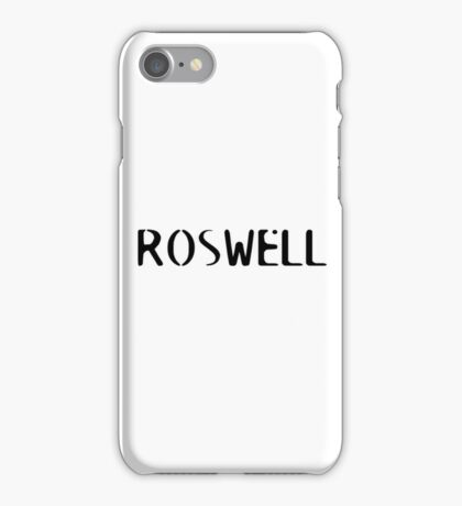 Roswell iPhone Case/Skin