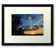 """""""A Serene Moment"""" Framed Print"""