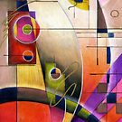 Kandinsky's Cadence  by Alma Lee
