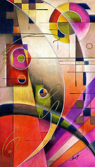 Kandinsky's Cadence  by Alma Lee