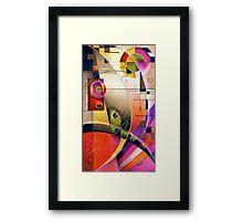 Kandinsky's Cadence  Framed Print