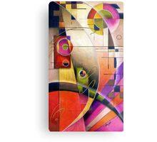 Kandinsky's Cadence  Metal Print