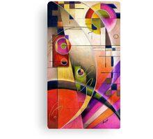 Kandinsky's Cadence  Canvas Print