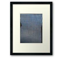 Screened Framed Print