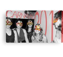 A Cor de Carnaval Canvas Print