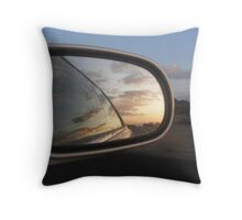 Looking Back Throw Pillow