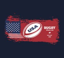 USA Rugby World Cup by afromedia