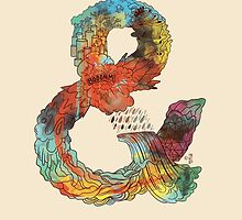 Psychedelic Ampersand by Francisco Martins