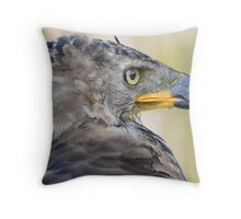 Crowned Profile Throw Pillow