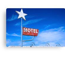 Old Motel Canvas Print
