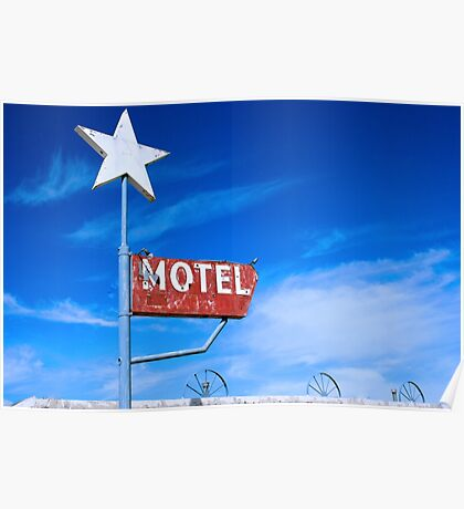Old Motel Poster