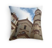 Tserkovʹ Svyatogo Nikolaya Throw Pillow