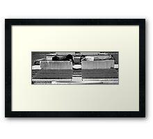 Urban Rest Framed Print
