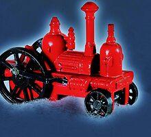 Tiny Steam Engine by rogerlloyd