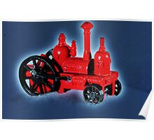 Tiny Steam Engine Poster