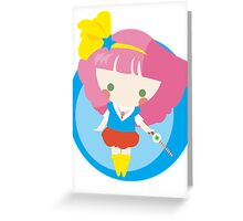 Minky Momo Greeting Card