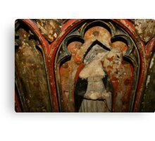 Mary at Oxford Cathedral Canvas Print