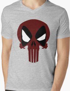 PUNISHERPOOL Mens V-Neck T-Shirt