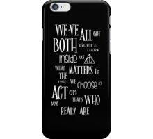 Sirius Quote iPhone Case/Skin