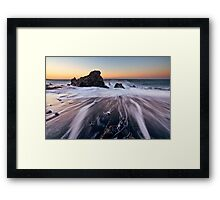 Claw Back the Sands of Time Framed Print