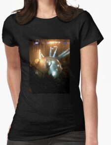 The Bubble Womens Fitted T-Shirt