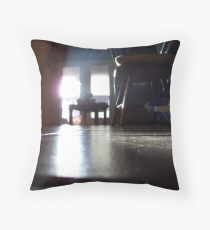 The Room of Late Day Throw Pillow