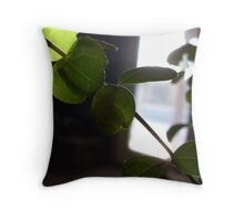 One Light Leaf Throw Pillow