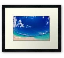 Bahamas Sand Bar Framed Print