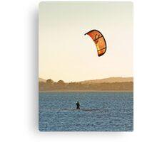The Wello Windsurfer -Wellington Point Qld Canvas Print