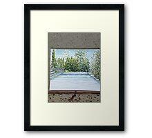 Pool Render Framed Print