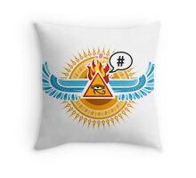 Egypt uprising Throw Pillow
