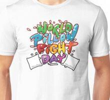World Pillow Fight Day Unisex T-Shirt