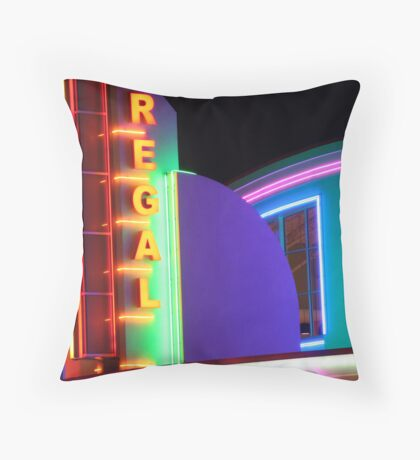 Regal Theater Throw Pillow