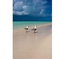 Island Storms - Heron Island - Australia Photographic Print