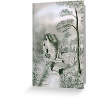 Old Country Mill Greeting Card