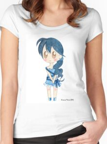 Ribbon Girl Women's Fitted Scoop T-Shirt