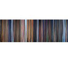 Moviebarcode: Pinocchio (1940) Photographic Print