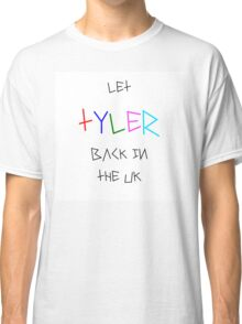 Let Tyler Back in the UK - Tyler, the Creator Classic T-Shirt
