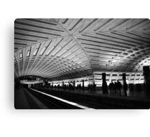 DC Metro Station Canvas Print